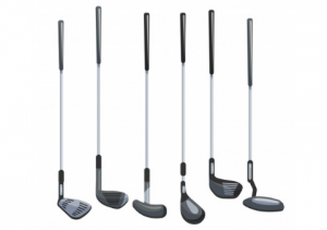 Different types of golf clubs