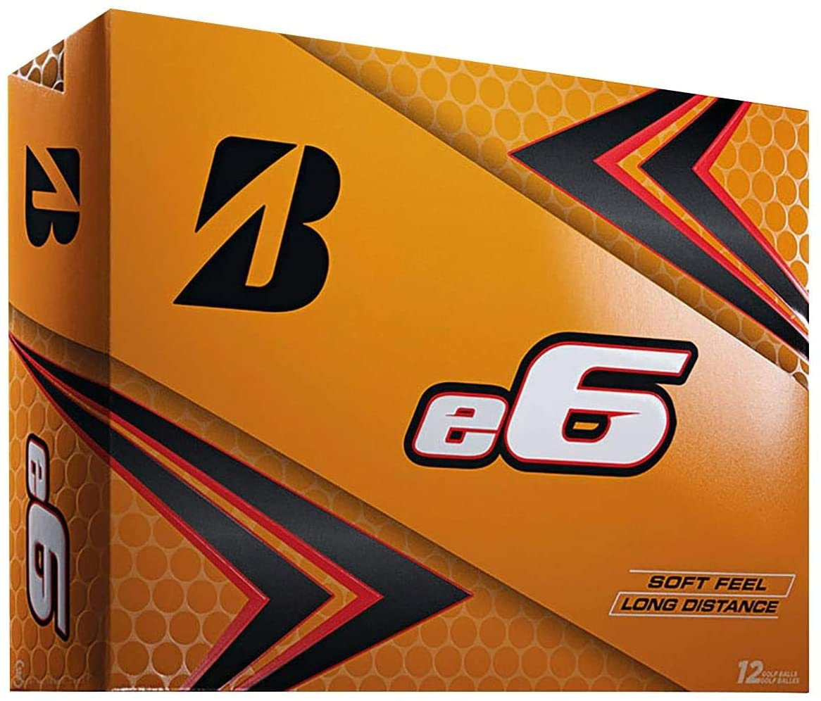 Best golf balls for high handicappers Bridgestone E6 Soft