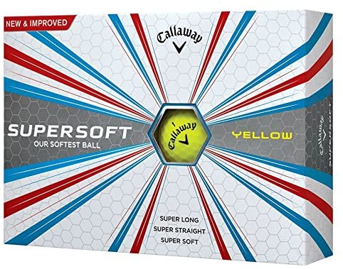 Best golf balls for high handicappers Callaway 2017 Supersoft Dozen