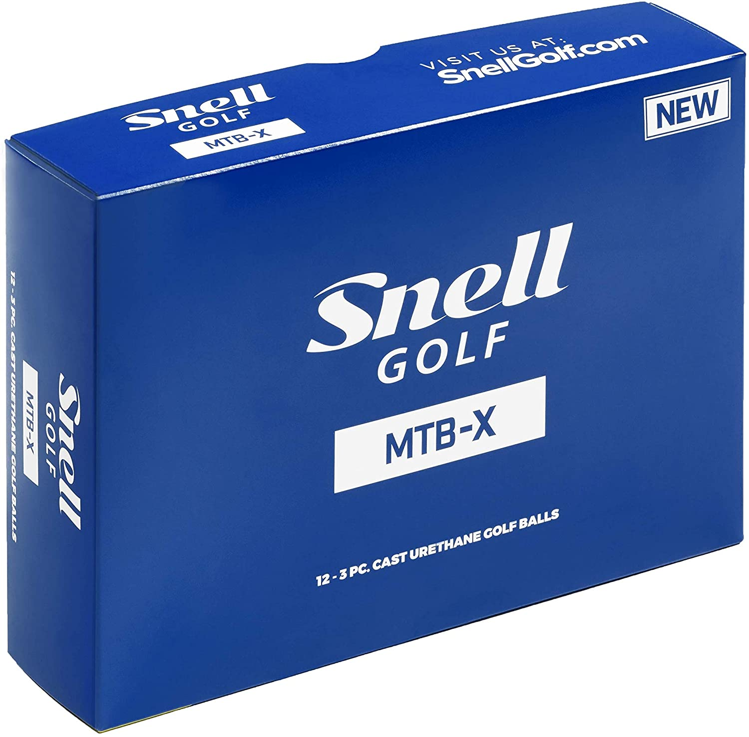 Best golf balls for high handicappers Snell MTB-X