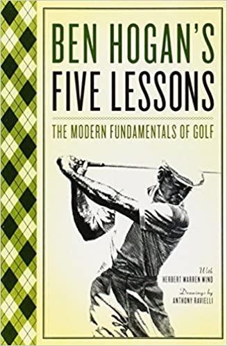 Best golf instruction books - Ben Hogan's Five Lessons