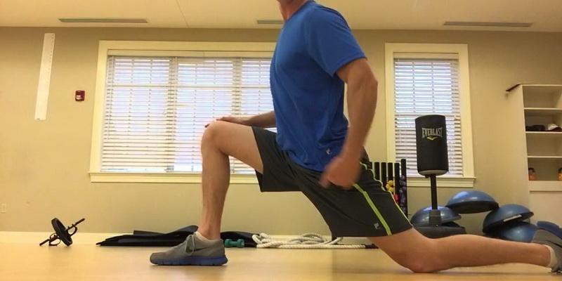 Dynamic golf stretches