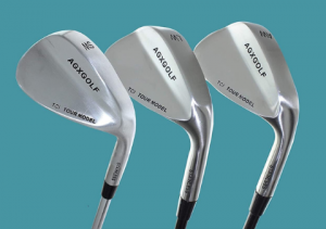 Different types of golf wedges