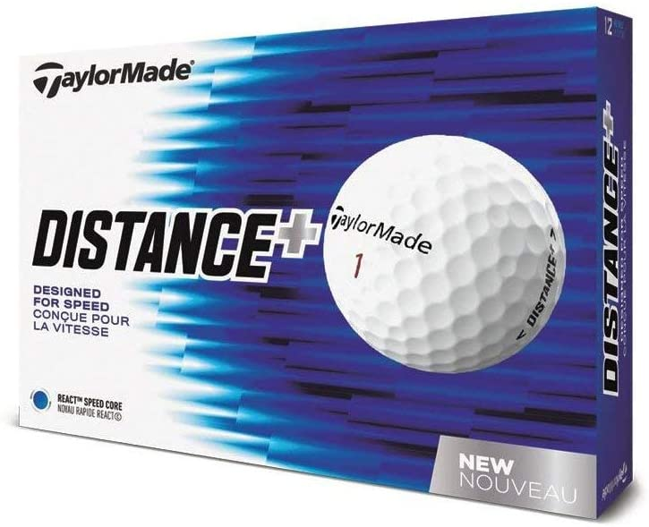 Best golf balls for distance TaylorMade Distance Plus