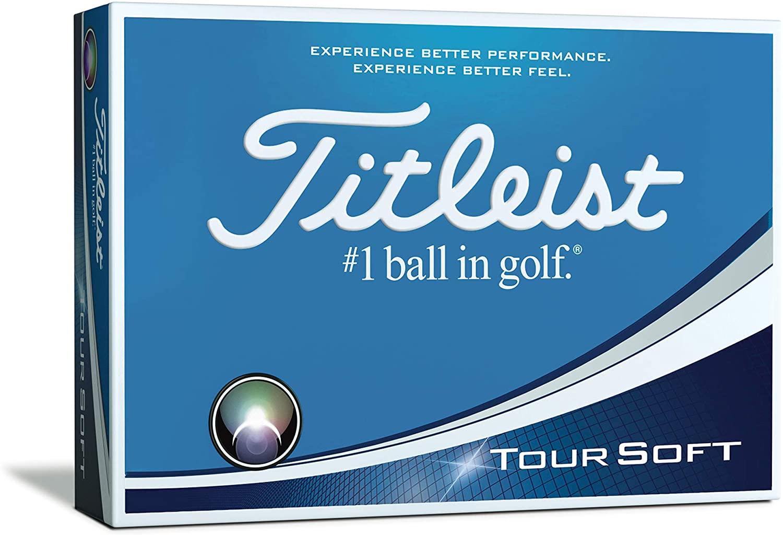 Best golf balls for distance Titleist Tour Soft
