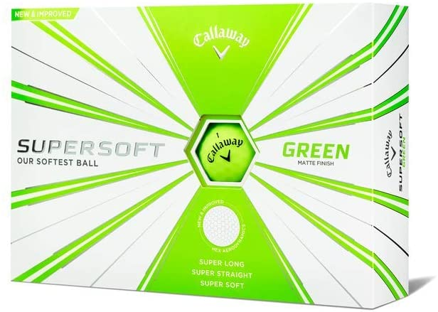 Best golf balls for mid handicappers Callaway 2019 Supersoft