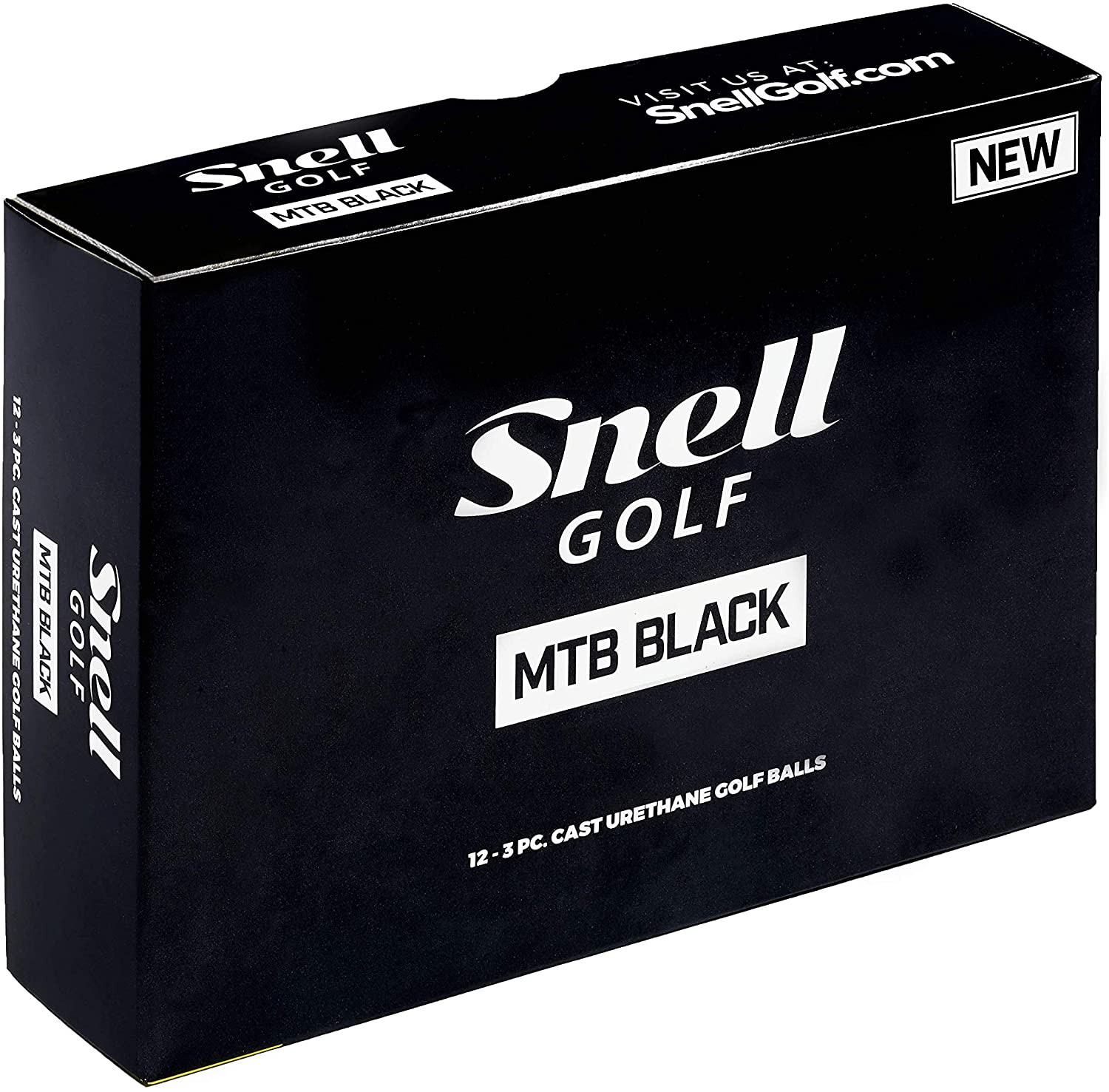 Best golf balls for mid handicappers Snell MTB Black