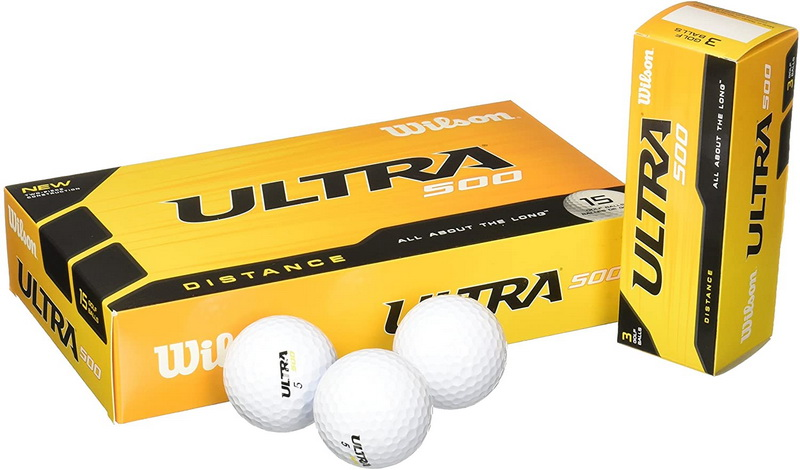 Wilson Ultra 500 Distance Personalized Golf Balls