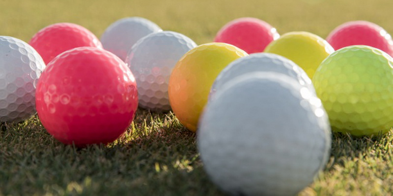 lots of colored balls - how to wash and clean golf balls like new